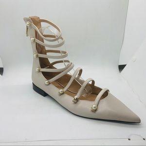 Zara Ankle Ballet Flats